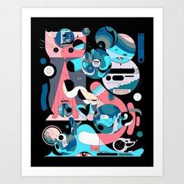 Poohhgffn Art Print
