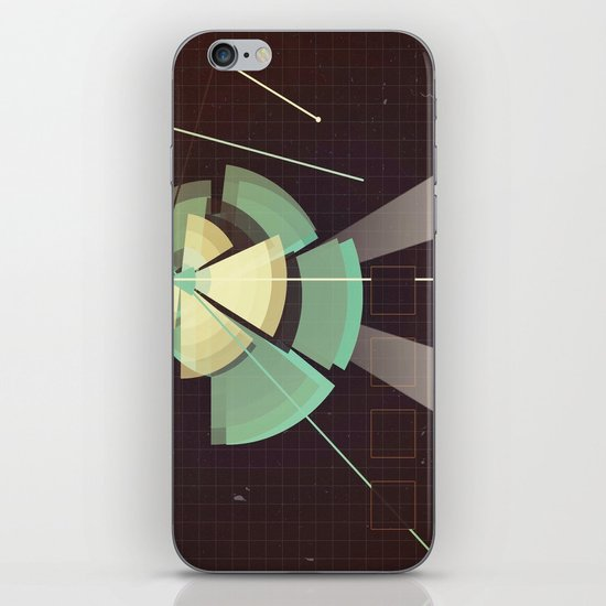 Digital Space Station iPhone & iPod Skin