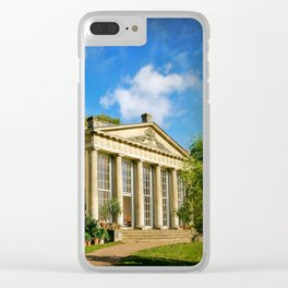 Temple Greenhouse (V2 Texture) Clear iPhone Case
