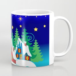 Home for the Holidays Picture,Christmas and Holiday Fantasy Collection Coffee Mug