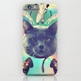 galactic Cats Saga 3 iPhone Case