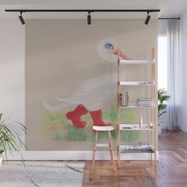 a Snozzleberry Swan excursion Wall Mural