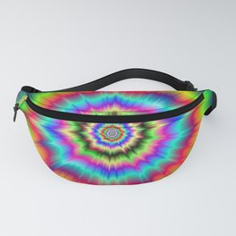 Psychedelic Explosion Fanny Pack