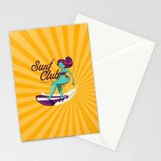Surf Club Paradiso Stationery Cards