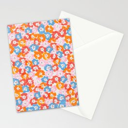 Morning Glory - Pink Multi Stationery Cards