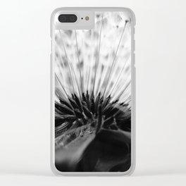 Inside A Dandelion Clear iPhone Case