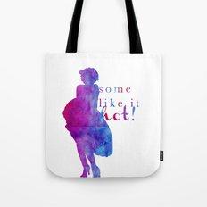 Marilyn Monroe Some Like It Hot! Tote Bag