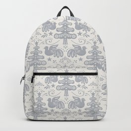 Hygge - Scandinavian Winter (grey) Backpack
