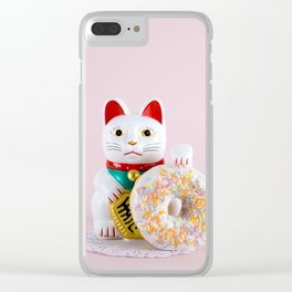 Maneki Donut Clear iPhone Case
