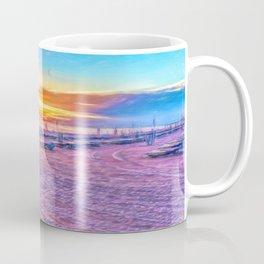 Sunset in Pink Coffee Mug