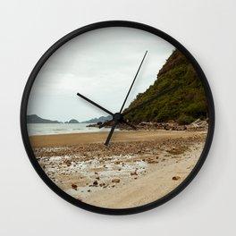 Sam Roi Yot Beach in Thailand Wall Clock