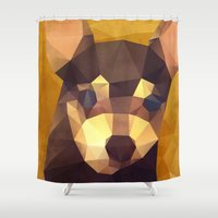 chihuahua Shower Curtains featuring The Chihuahua by Ed Burczyk