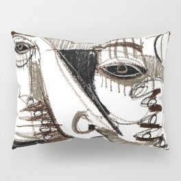 Silver Look Pillow Sham