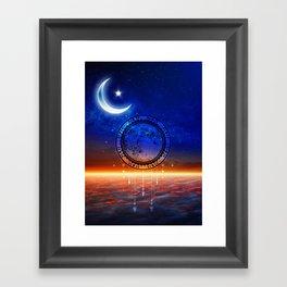 Mystic Moon #2 Framed Art Print