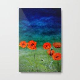 Poppies paradise Metal Print