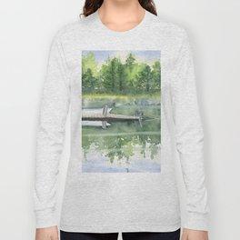 A Summer Pond Long Sleeve T-shirt