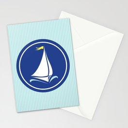 Sailboat Print  Stationery Cards