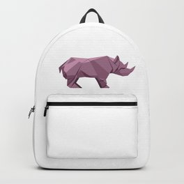 Origami Rhino Backpack