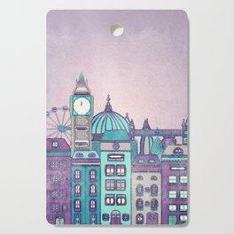 London Skyline Cutting Board