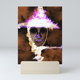 Lit Mini Art Print