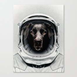 Pluto Astro Dog Canvas Print