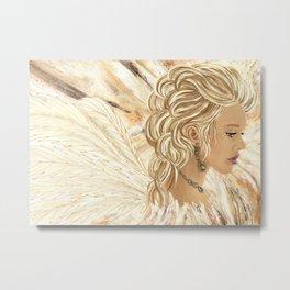 Angel Serenity Metal Print