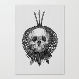 Everything with Skulls - 01 Canvas Print