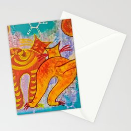 Cat Paradise Stationery Cards