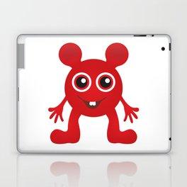 Red Smiley Man Laptop & iPad Skin