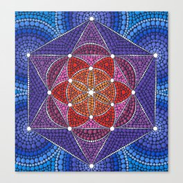 Creation Mandala Canvas Print