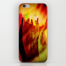 The fire iPhone & iPod Skin