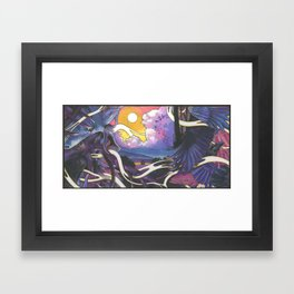 The Raven Cycle Framed Art Print