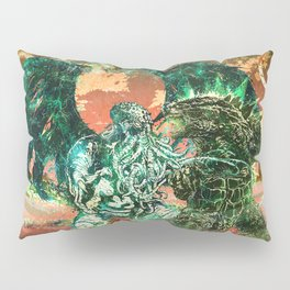 Cthulhu vs Godzilla Pillow Sham