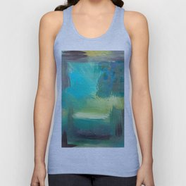 Looking in the Room Unisex Tank Top