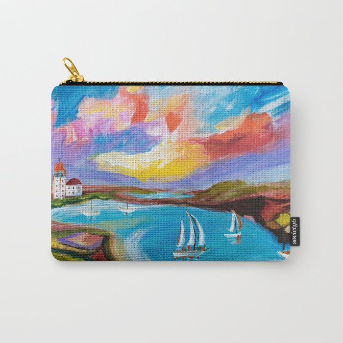 Idyllic Lakeview Carry-All Pouch