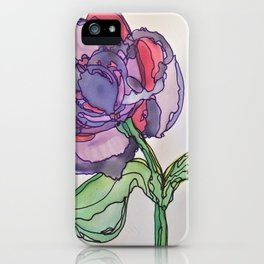 Purple and Pink iPhone Case