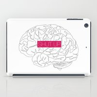 brain iPad Cases featuring Brain by AMOSLIDE