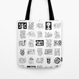 Thirty Five Dungeon Maps Tote Bag