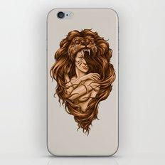 Lion Queen iPhone & iPod Skin