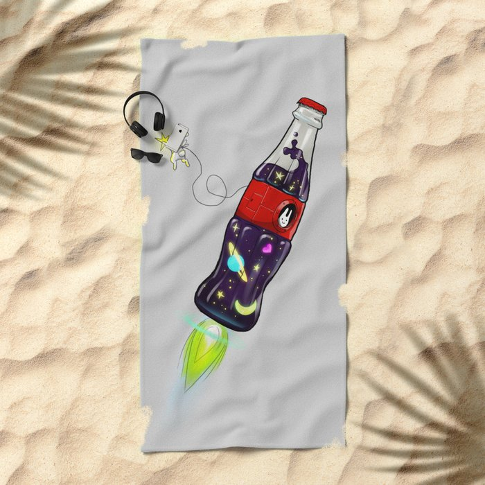 Bottleship Beach Towel
