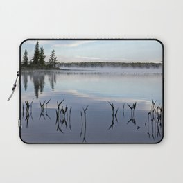 trees and weeds reflected Laptop Sleeve