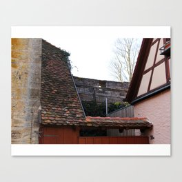 Roof Angles Canvas Print