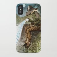 """dragon age inquisition iPhone & iPod Cases featuring Dragon Age Inquisition - Cole - Charity by Barbara """"Yuhime"""" Wyrowińska"""