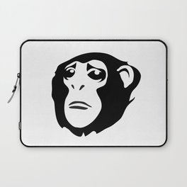 Sad Monkey Laptop Sleeve
