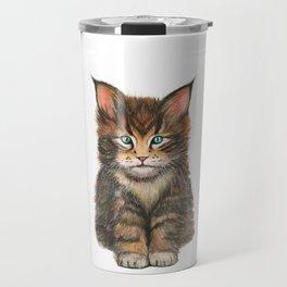 Little Kitten II Travel Mug