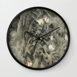 Shells Wall Clock