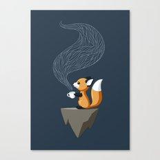 Fox Tea Canvas Print