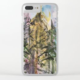 Sunday Valley Clear iPhone Case