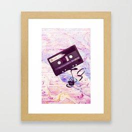 Love Tape Framed Art Print