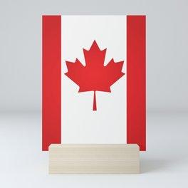 Canada flag Mini Art Print